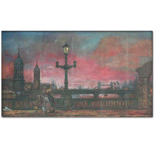 Dawn from Southwark Bridge, London